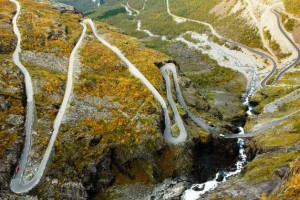 Trollstigen Road-an excellent attraction in Norway tourism destinations