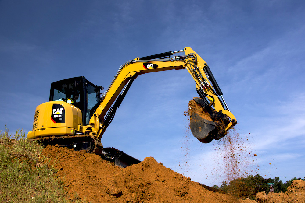 Caterpillar-E2-series-305.5E2-CR-compact-mini-excavator