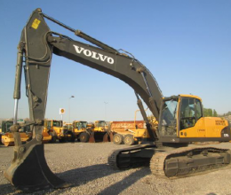 2010 model VOLVO EC290CL Ekskavatör