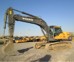 2010 model VOLVO EC360CL Ekskavatör