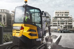 Star picture of the CEX ECR25D compact crawler excavators